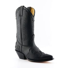 Western boots Arizona black Goodyear Welted Leather upper Soft Leather lining Stacked leather heels Leather Soles Made in Mexico str 37-46 Pris 2500-,