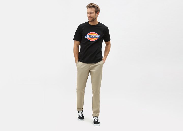 Dickies workwear t-skjorte svart str Xs-3Xl 300-,