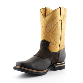 Western boots Frontier Goodyear Welted Leather upper Soft Leather lining Rubber Soles Made in Mexico str 37-46 Pris 1950-,