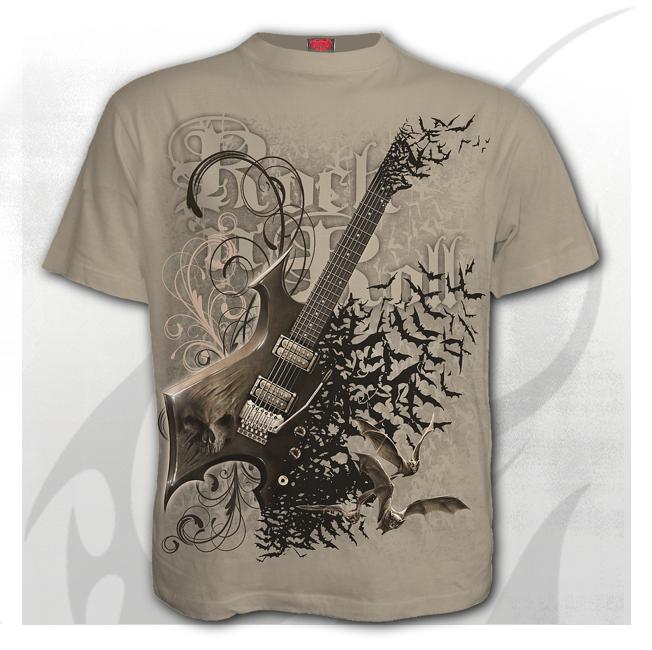 Bat guitar t-skjorte Str S-2Xl Pris 300-,