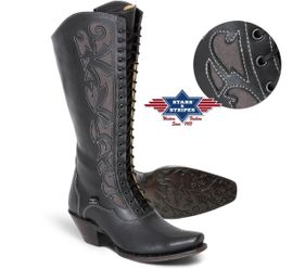 Western dame boots